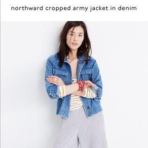 Madewell Cropped Denim Jacket